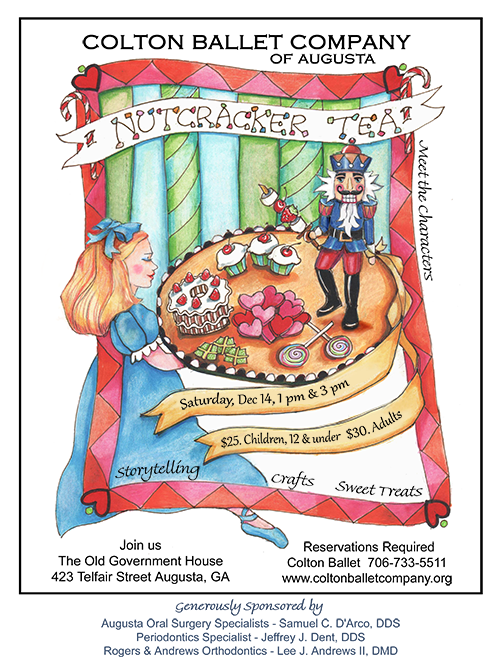 Colton Ballet Company's 2019 Nutcracker Tea Party ad