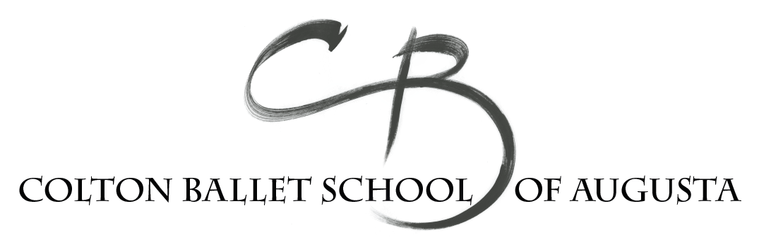 The Colton Ballet School logo