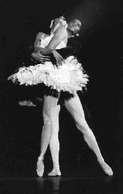 Zanne Colton dancing as Odile is Swan Lake